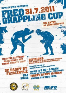 Freo Grappling Cup 2011 poster