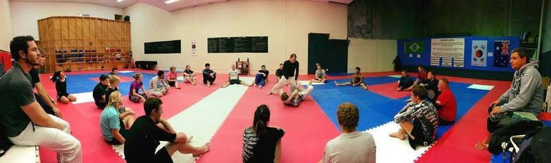 Large mat area